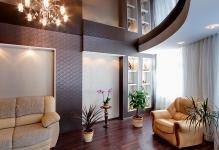 Как сделать двухуровневый потолок с подсветкой