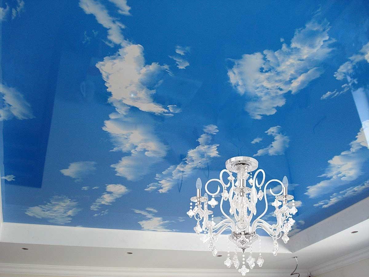 танцует натяжные потолки фотопечать облака персонажа высокий урон