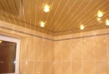 Как установить сайдинг на потолок