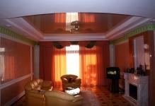 Living-roomorangeceiling