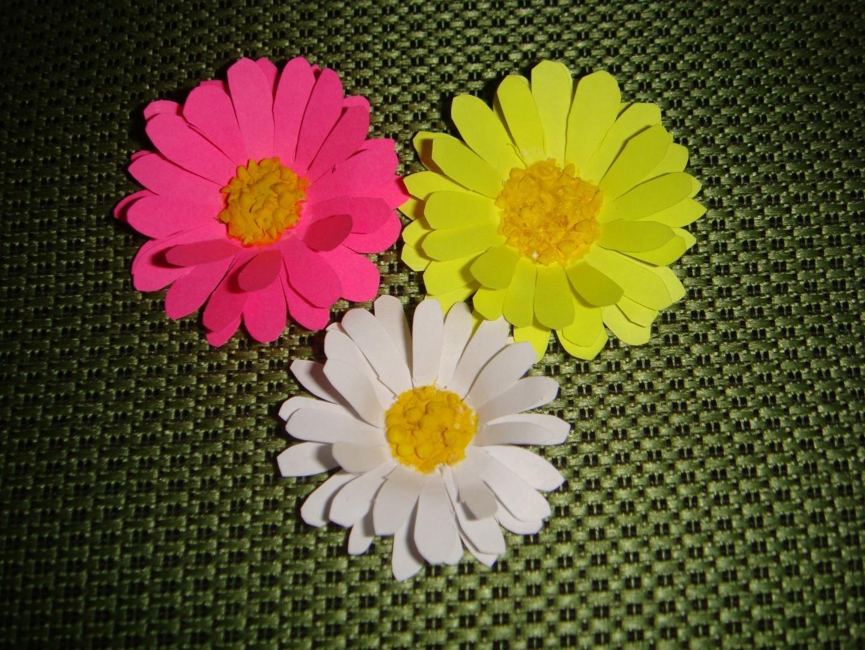 Цветы украшения для открыток мастер класс, для поздравлений скорпион