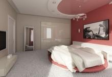 Потолки из гипсокартона для спальни
