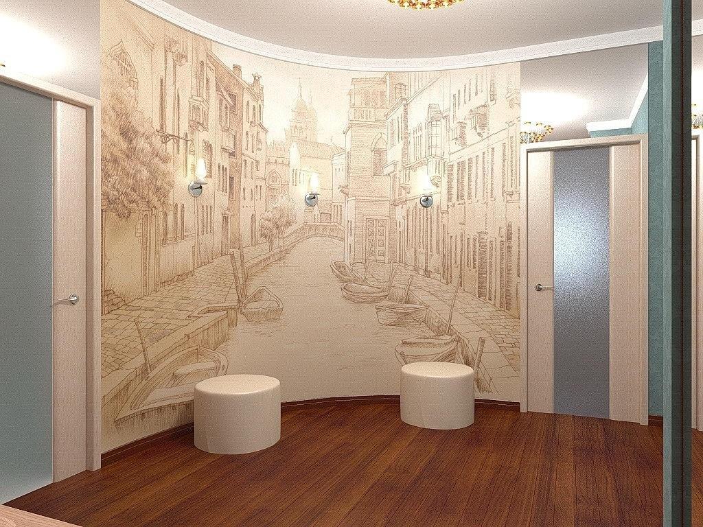 Фотообои на стену для коридора фото