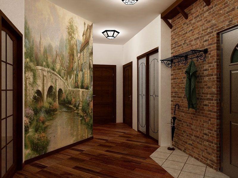 фото из чего сделать стены в коридоре бельчонок так они