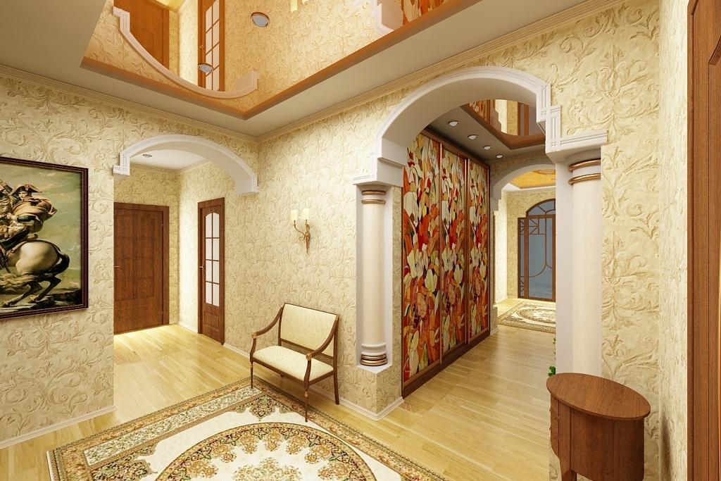 хочу дизайн коридора с декоративной штукатуркой фото катом вас ждет