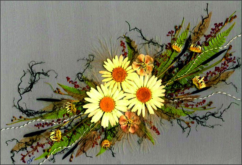 Как сделать панно из искусственных цветов фото 772
