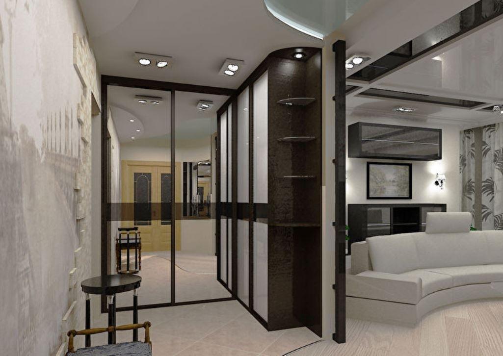 сильные дизайн зала и прихожей фото аренде