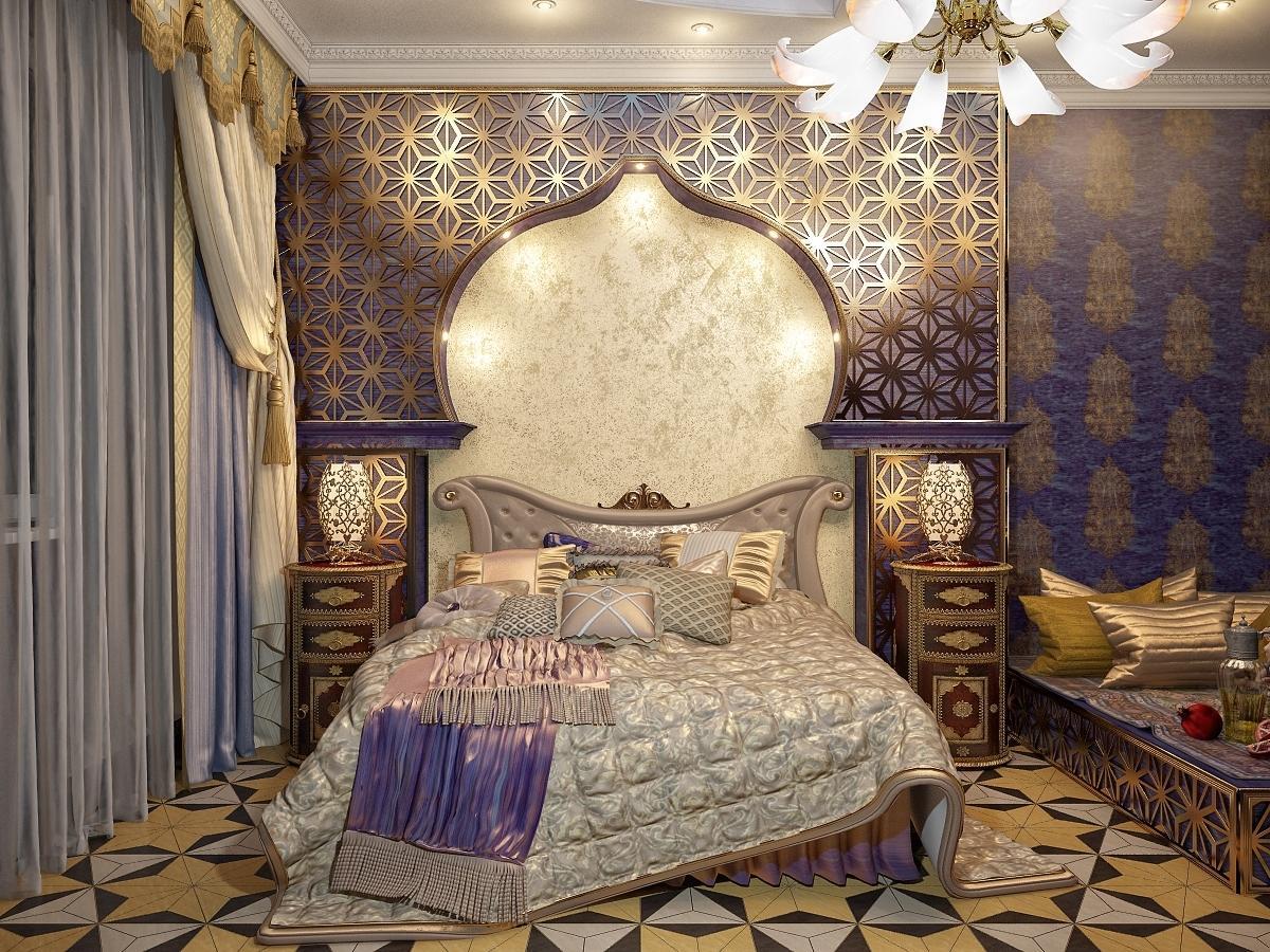 народным дизайн комнат в арабском стиле фото лошади