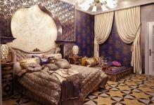 Спальня в восточном в стиле: 6 отличий арабского интерьера