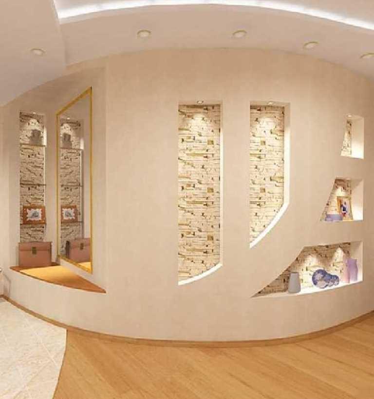 примеры стен из гипсокартона фото также преподаю азы