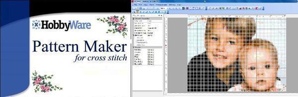 Программа Pattern Maker за считанные секунды превратит любую фотографию в полноценную схему для вышивки крестом