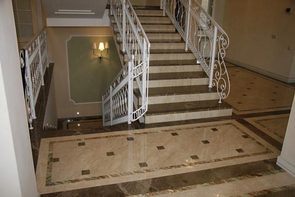 Мраморная лестница: фото ступеней, облицовка и ремонт ограждающих панелей, калошника отделка, изготовление в доме