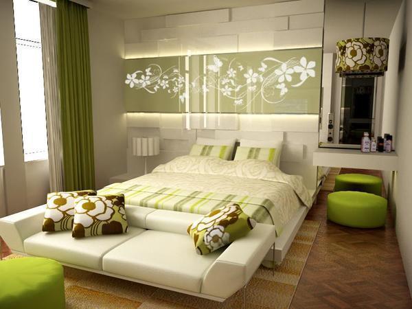 Стильно украсить маленькую спальню легко, главное - правильно подобрать декор