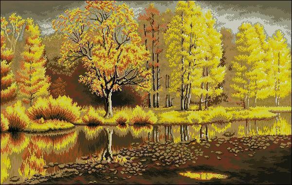 Если летом у деревьев преобладает зелёный цвет, то осенью их листва приобретает самую разнообразную окраску. И тот же самый лес становится совершенно другим