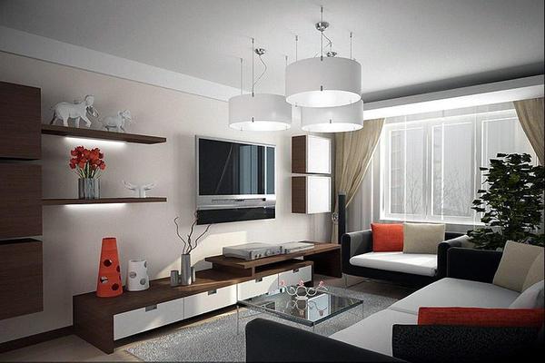 К расцветке помещения нужно подойти ответственно, чтобы визуально не уменьшить комнату