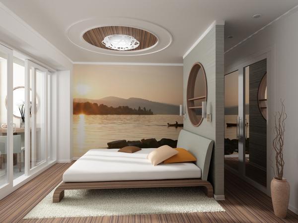 Чтобы спальня стала уютной, важно правильно выбрать мотивы, цвета и габариты обоев