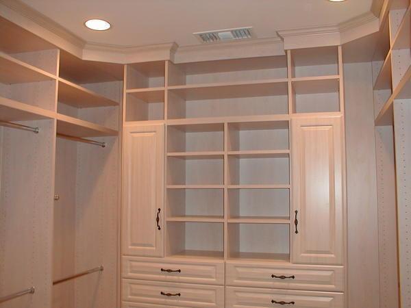 В гардеробной обязательно должна быть вентиляция