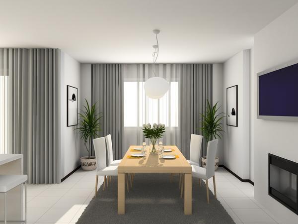 Шторы модерн: стиль зала, фото гостиной, для кухни на окна тюль, занавески