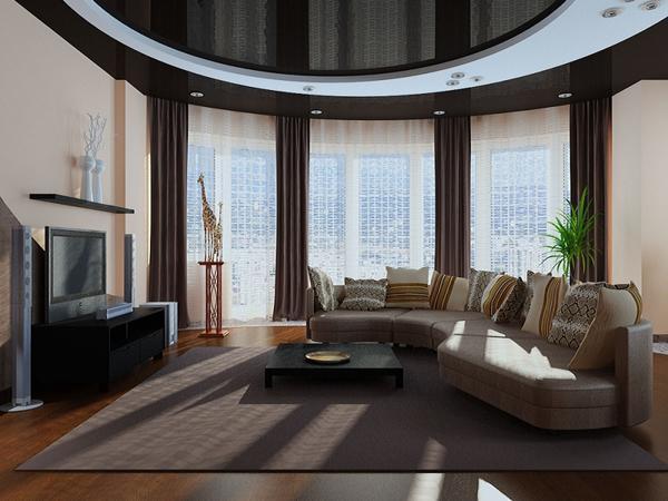 Гостиная должна всегда выглядеть эффектно, ведь это одна из главных комнат в доме