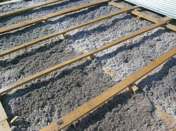 Эковата является натуральным материалом, который широко используется для утепления сооружений со стороны чердака