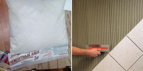 Можно ли приклеить керамическую плитку на гипсокартон