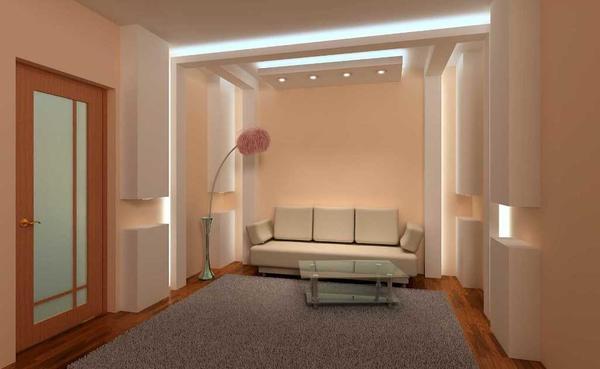 Гипсокартонная стена способна стильно и красиво дополнить практически любой интерьер