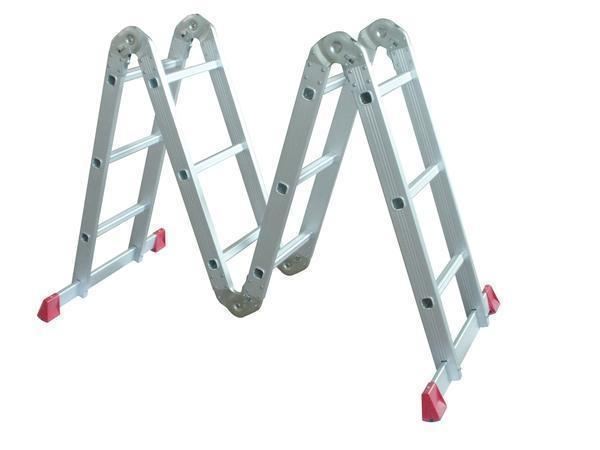 Складная алюминиевая лестница-трансформер: раскладная 6 и 8 метров, Centaure и LMS