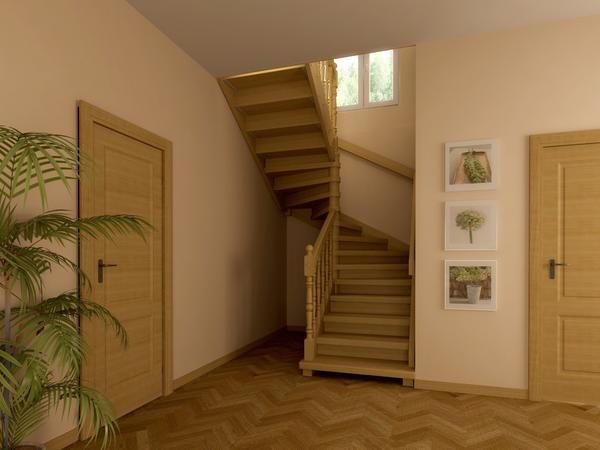 Перед тем как начинать обустраивать лестницу, необходимо продумать ее конструкцию