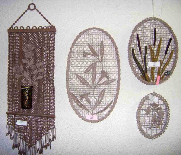 В макраме существует множество техник плетения, что дает безграничный простор для проявления творческого потенциала