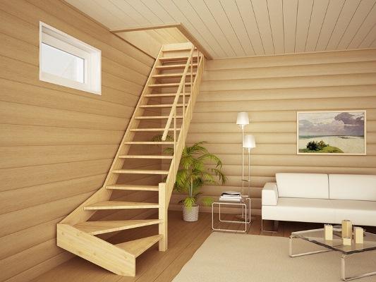 Изготовить простую деревянную лестницу можно самостоятельно, главное — тщательно подготовиться к процессу изготовления