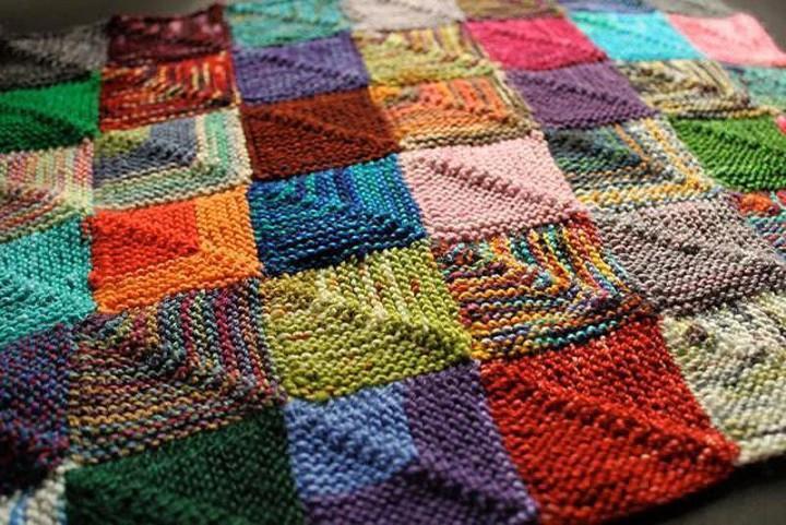 Пэчворк, в переводе с английского, обознчает лоскутное шитье. Одним из видов этого рукоделия является вязание в данном стиле