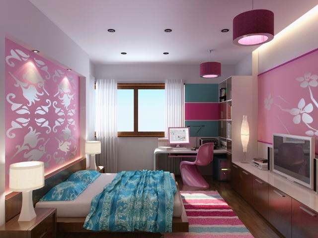 Освещение в комнате, предназначенной для сна и отдыха, должно быть спокойным, приятным и достаточно ярким