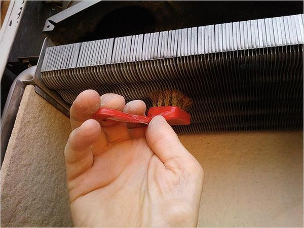 Чистка газового котла своими руками видео