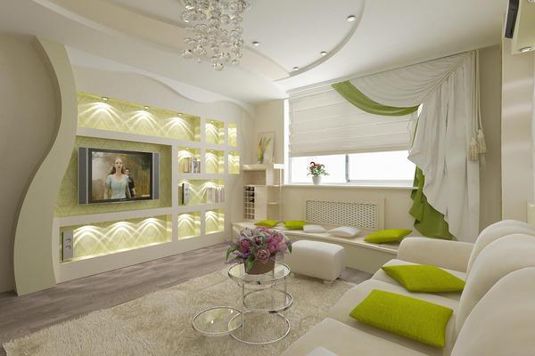 Только от воображения и ваших предпочтений зависит то, в каком стиле оформить гостиную
