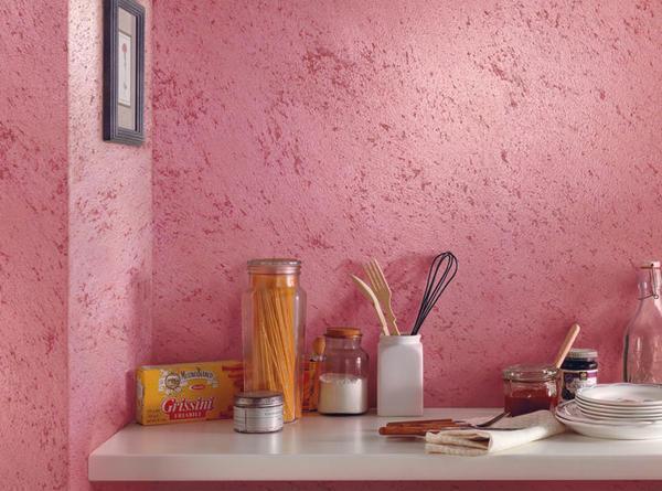 Покраска стен приятно удивит своей насыщенностью
