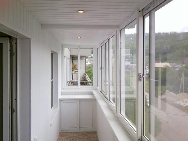 Чем обшить балкон внутри кроме вагонки