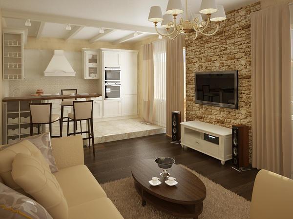 Для совмещение комнат необходимо правильно определить, где находятся газовые трубы и электрическая сеть