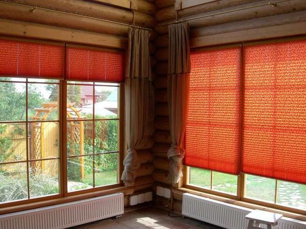 Шторы плиссе на пластиковые окна: фото, жалюзи в интерьере, как крепится бумага, рулонные гофрированные шторы