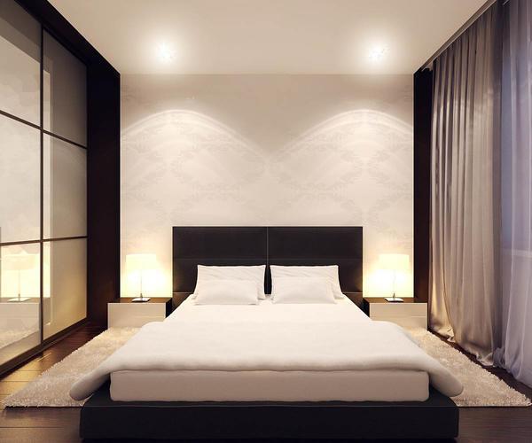 Минимализм в комнате характеризуется минимальным количеством вещей декора