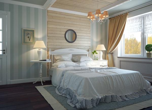 В стиле Прованс присутствуют много различных элементов декора