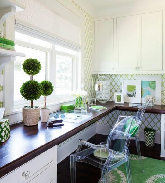 Топиарий можно установить практически везде, как в кухне, так и в комнатах