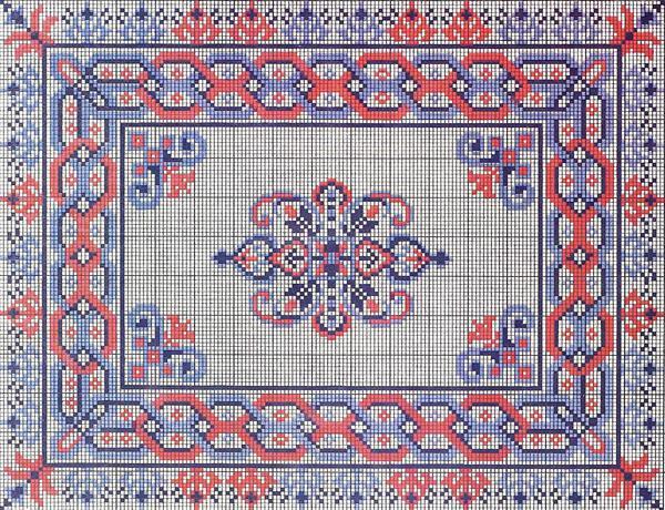 Чаще всего в славянском орнаменте используется красный цвет, символизирующий любовь и непрерывность рода