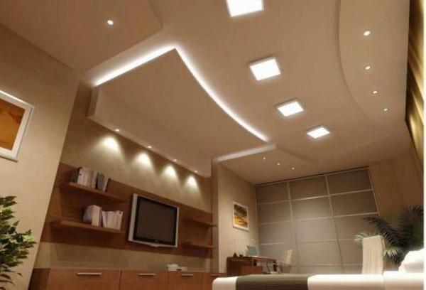 С помощью гипсокартона можно создать уникальный дизайн любого помещения