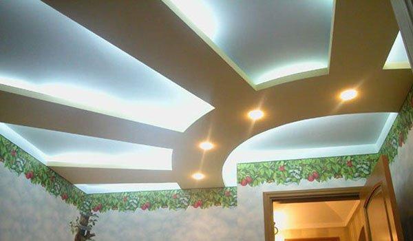 Натяжной потолок из гипсокартона - это не только необычное, но и практичное решение, которое позволит надолго забыть про ремонт потолочной поверхности