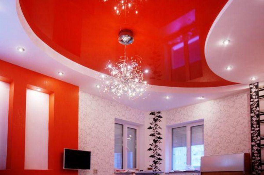 Натяжные потолки способны изменить интерьер любого помещения