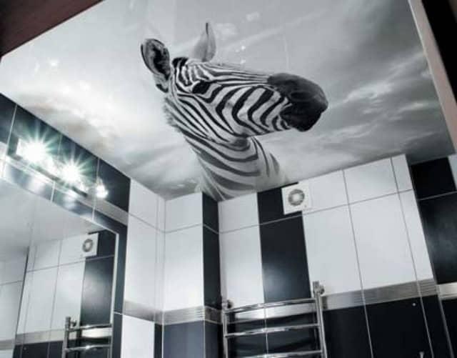 Натяжной потолок с фотопечатью — современное и популярное дизайнерское решение