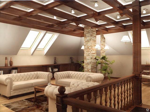 Кессонные потолки смотрятся стильно в современном интерьере, хотя возраст их насчитывает не одно столетие