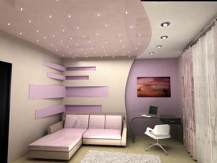 Подвесной потолок – эстетичный, надежный и  относительно недорогой вариант отделки потолочного пространства в доме