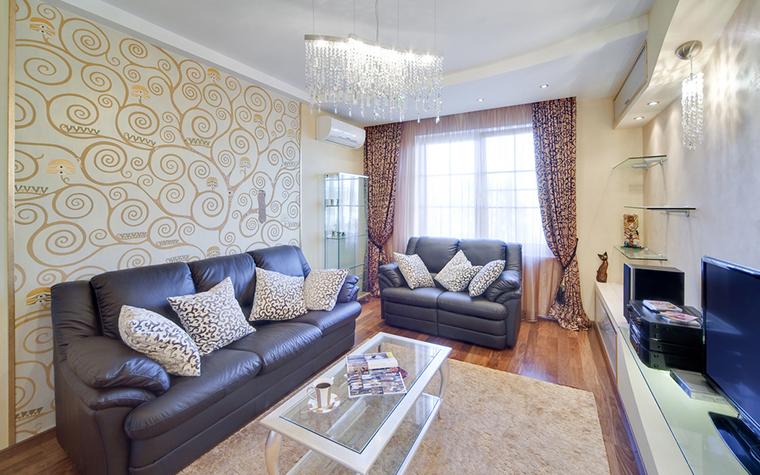 Красивые обои помогут создать определенный стиль в интерьере вашего жилья