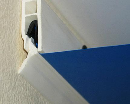 Натяжной потолок в доме - вещь популярная в наше время, но не стоит забывать, что от выбора багета во многом зависит качественный монтаж натяжного потолка